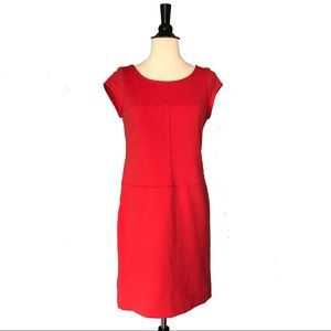 Banana Republic Red Professional Dress